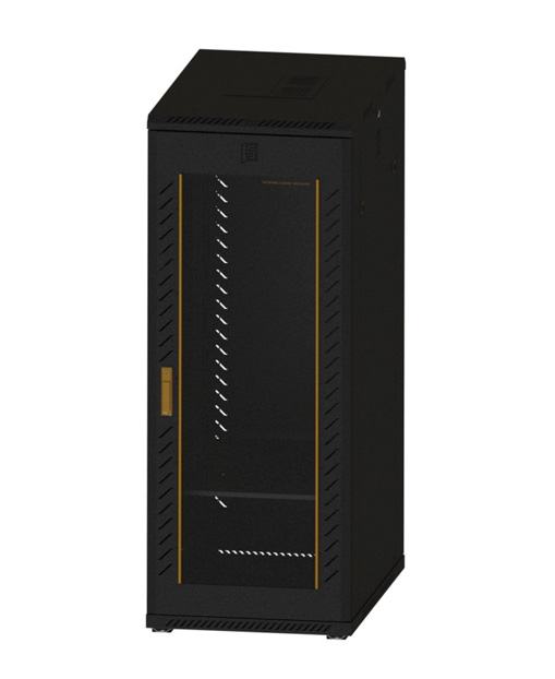 Network cabinet-12      1620,600,900 Common Lock Glass-Black