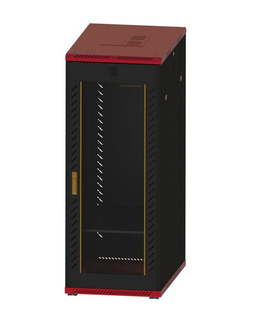 Network cabinet-13      1620,600,900 Common Lock Glass-Red