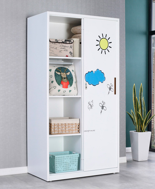 Professional Economic Home Children's Open the door Wardrobe
