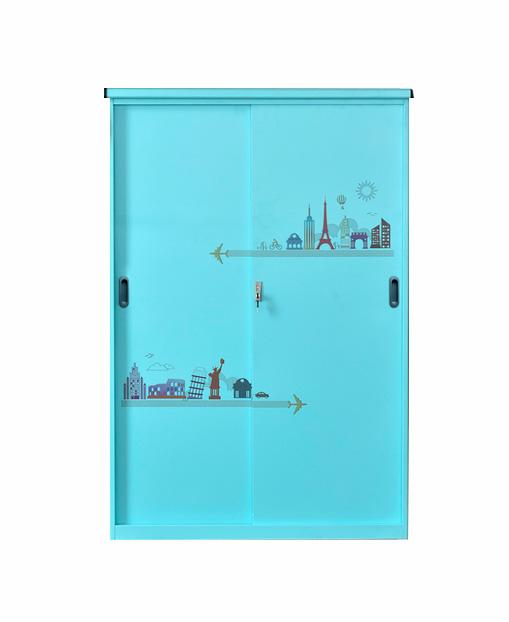 Factory Price Customizable Metal Waterproof Balcony Storage Cabinet