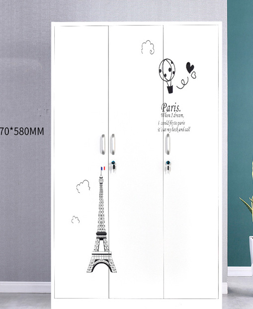 Multi-function Open the door Printing Cabinet Storage Wardrobe