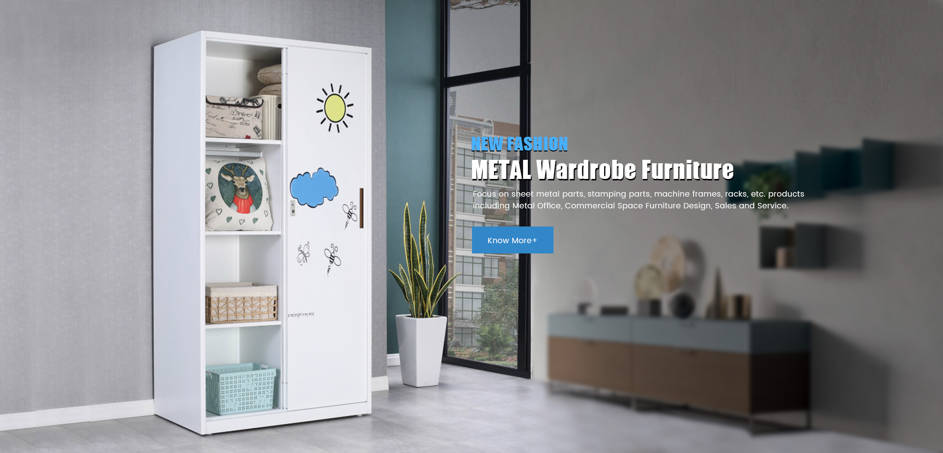 Metal Wardrobe Furniture